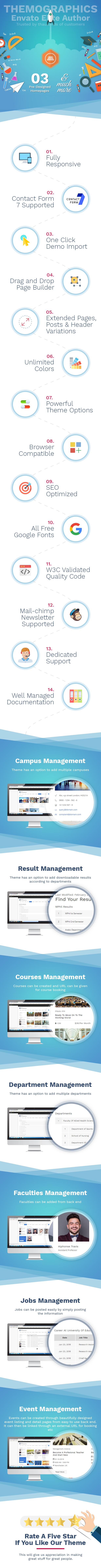 Edmento - Education WordPress Theme - 1